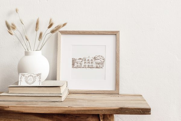 Home or Venue Sketch | Bespoke Illustration | Fine Art Design Studio