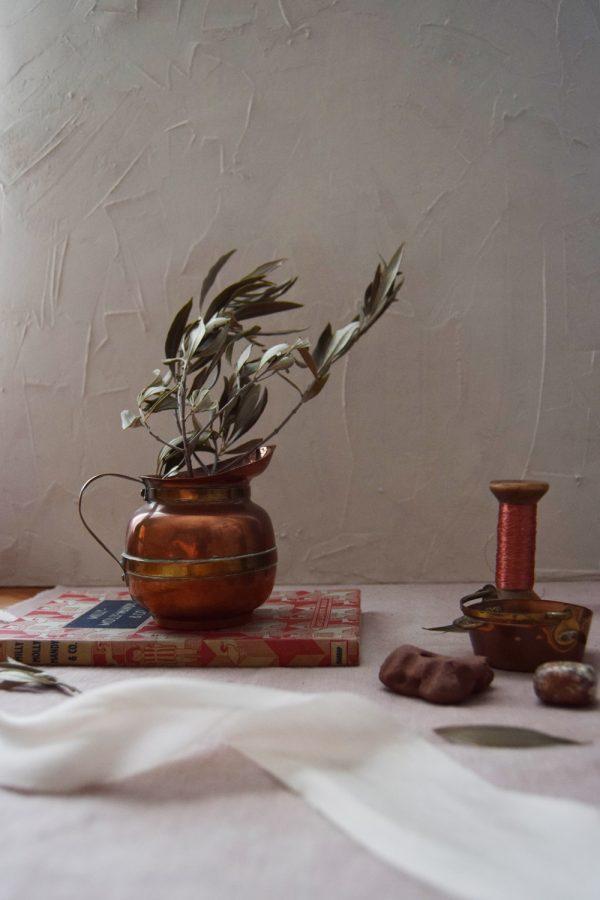 Small Copper and Brass Jug - Fine Art Design Studio
