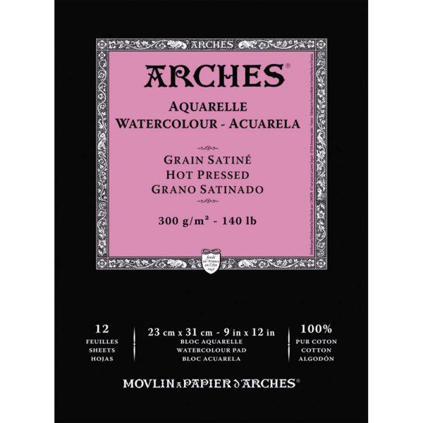Arches Hot Pressed Watercolour Paper - Fine Art Design Studio